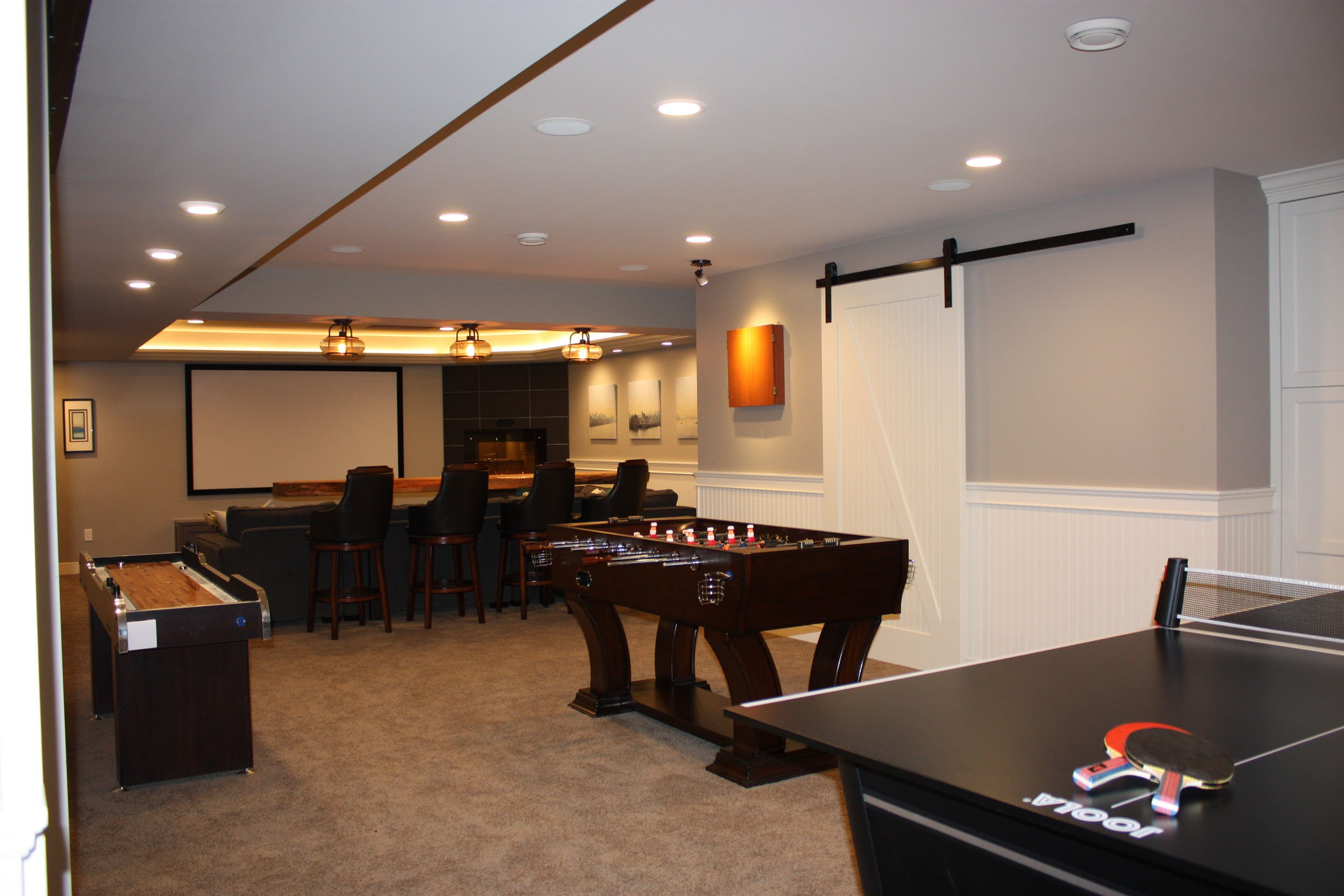 Games and Movie Basement