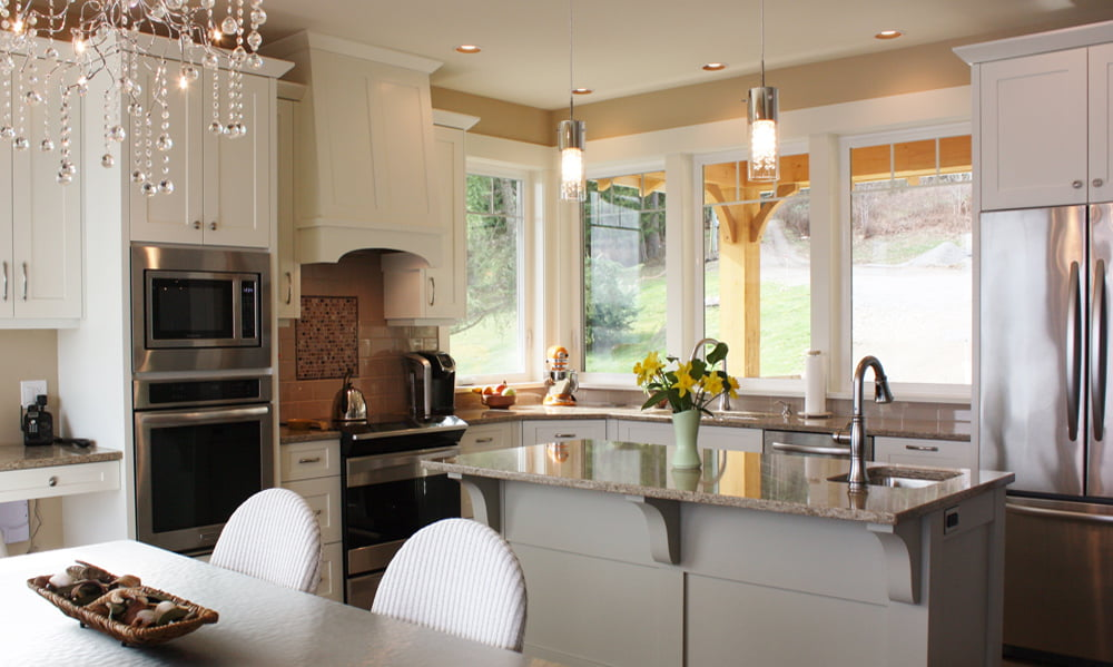 Water Front Home - Traditional Kitchen - Tina Moizer Designs
