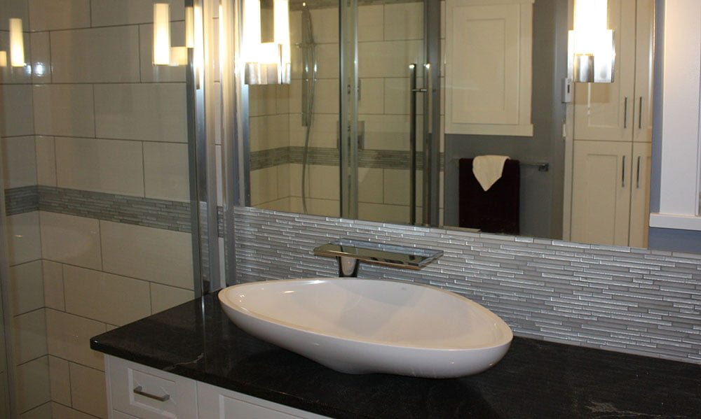 Lake View Home - Contemporary Faucet - Tina Moizer Designs